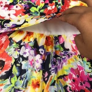 Lauren Ralph Lauren Dresses - Ralph Lauren floral bright tiered mini dress